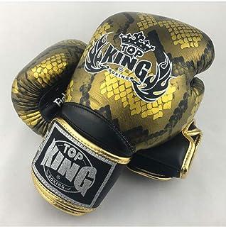 14 12 KINGTOP Top King Muay Thai Gants de Boxe Super Star Tkbgss-01-gd Air Or 10 16/G