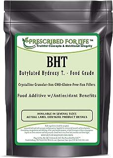 Prescribed for Life BHT - Butylated Hydroxy T. Crystalline Granular Powder - US Food Grade Anti-Oxidant, 4 oz (113 g)