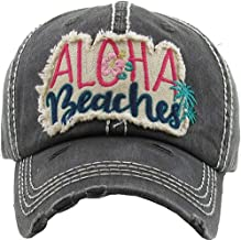 Aloha Beaches Women's Vintage Cotton Baseball Hat