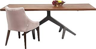 Table Roots foncée 220x100cm Kare Design