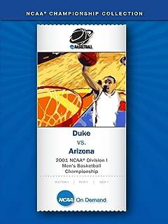 2001 NCAA(r) Division I Men's Basketball Championship - Duke vs. Arizona