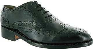 (アンブラーズ) Amblers メンズ ベン レザーソール シューズ 革靴 レースアップ ドレスシューズ 紳士靴 男性用