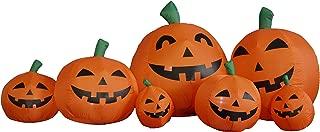 7.5 Foot Long Halloween Inflatable Pumpkins Yard Decoration