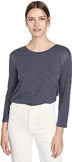 Women's Skinny Stripe Crew Tee