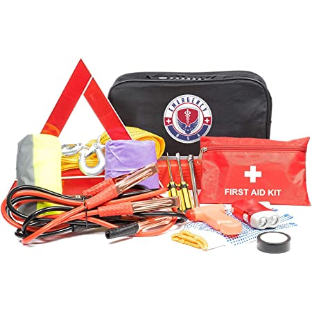 First Aid Kit for Car Roadside Survival Relief Pod International Emergency Kit for Home Or Camping