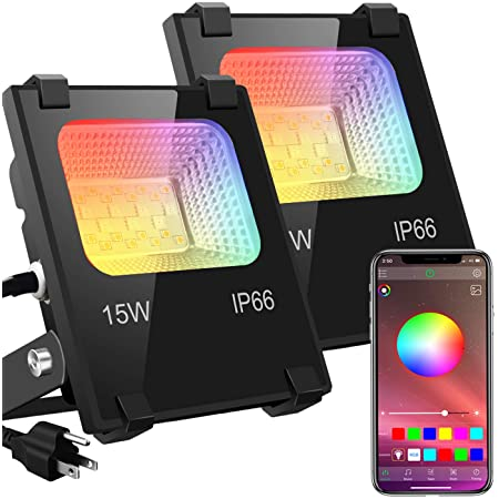 Outdoor Color Changing Led Stage Landscape RGB LED Flood Light 100W Equivalent