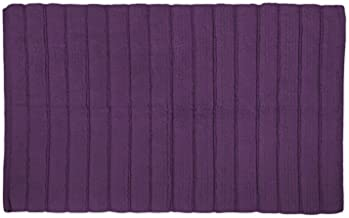 DII 100% Cotton Ultra Soft Ribbed Luxury Spa Bath Rug,Place Near Vanity, Bath Tub or Shower, Perfect for Bathroom, Dorm Ro...