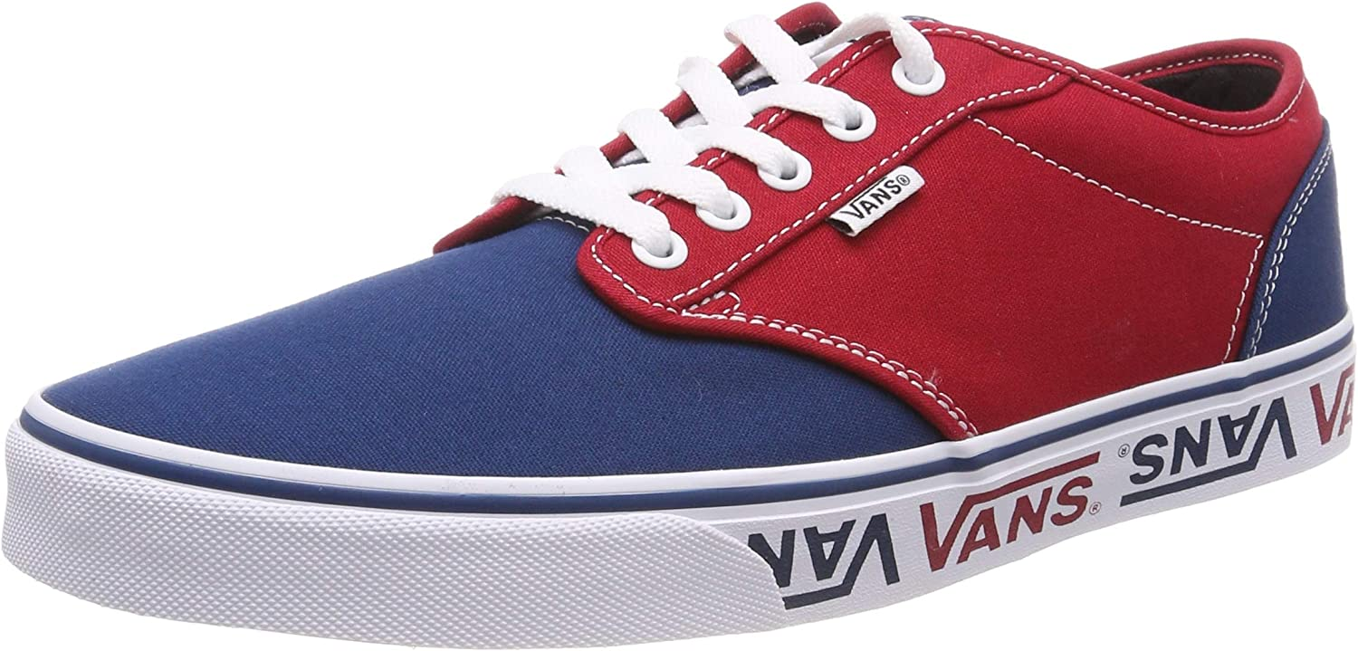 Vans Atwood Sidewall Logo shoes - Sailor bluee Red-UK 8
