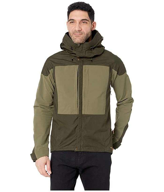 Fjallraven Keb Jacket (Deep Forest/Laurel Green) Men