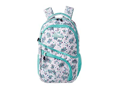 High Sierra Wiggie Lunch Kit Backpack (Star Floral/Aquamarine/White) Backpack Bags