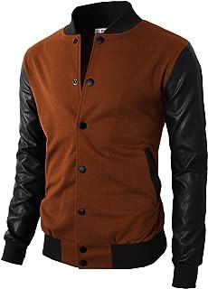 e324a642885 Amazon.com  Browns - Varsity Jackets   Lightweight Jackets  Clothing ...