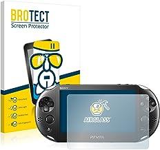 brotect Pellicola Protettiva Vetro Compatibile con Sony Playstation PS Vita Slim Schermo Protezione, Estrema Durezza 9H, A...