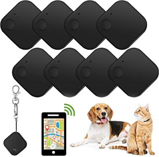 $25 » Sponsored Ad - 8 Pieces Key Finder, Bluetooth Smart Tracker GPS Item Locator Anti-Lost Tracking Device with 8 Pieces Lobst...