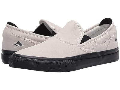 Emerica Wino G6 Slip-On (White/Black) Men