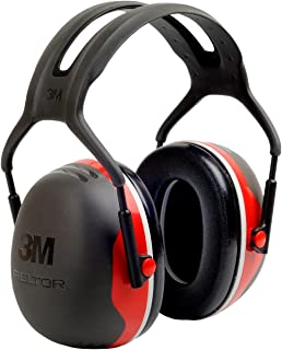 3M Peltor X3A Over-the-Head Ear Muffs, Noise Protection, NRR 28 dB, Construction, Manufacturing, Maintenance, Automotive, Woodworking, Heavy Engineering, Mining