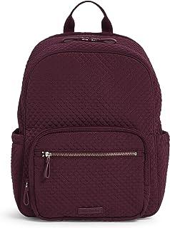 Vera Bradley Women's Microfiber Backpack Baby Diaper Bag, Mulled Wine, One Size