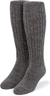 Second to None Thick Alpaca Terry Lined Boot Socks - Unisex