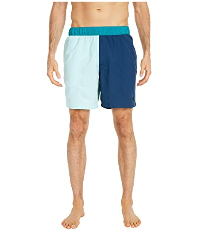 The North Face Class V 7 Pull-On Trunks (Coastal Green/Blue Wing Teal) Men