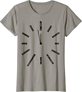 Womens Time's Up Me Too Movement T-Shirt