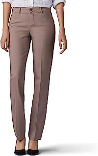 Women's Secretly Shapes Regular Fit Straight Leg Pant