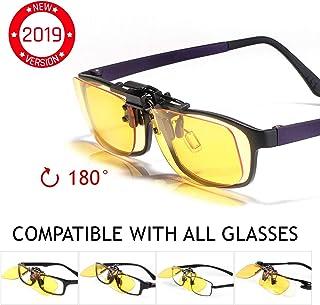 4aa2497ac3 KLIM OTG - Gafas de Clip para Bloquear la Luz Azul - Nueva 2019 Versión -