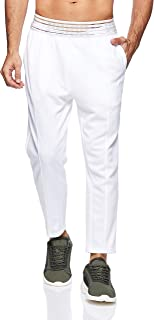 Puma FUSION Pants White Black Apparel For Women, Size M