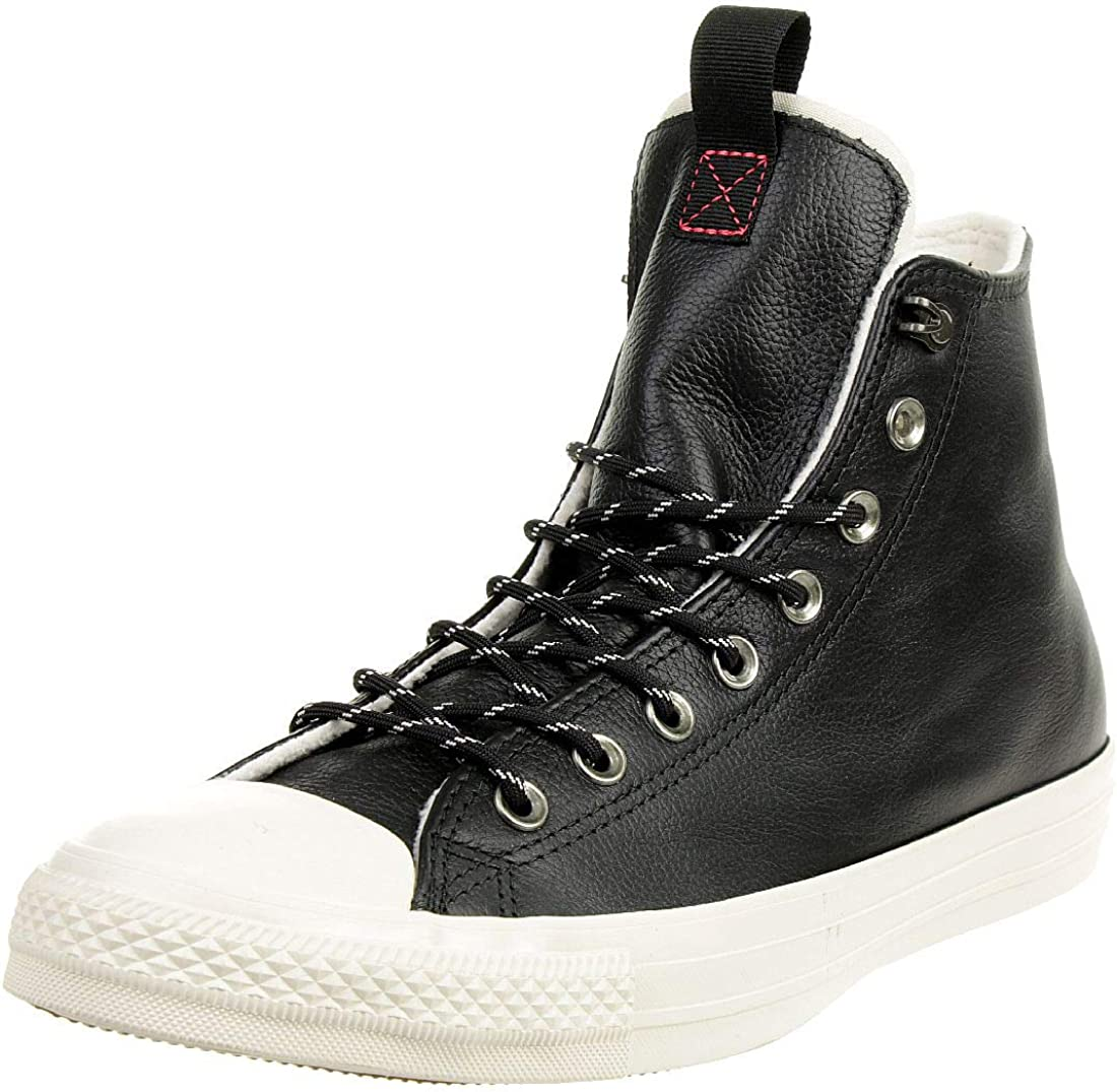 Converse Men's CT All Trainers Luxury goods Black Star Leather Some reservation