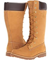 Timberland Kids - Asphalt Trail Girls' Classic Tall Lace-Up w/ Side Zip (Youth 2)