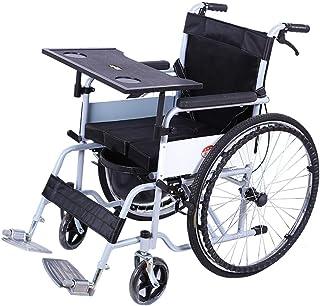 折り畳み車椅子鋼管製軽量標準型自走型車いす介助兼用介助ブレーキ付きノーパンクタイヤスタンダードタイプブレーキ式