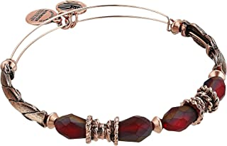 Alex and Ani Womens Journey Bangle Dark Orchid
