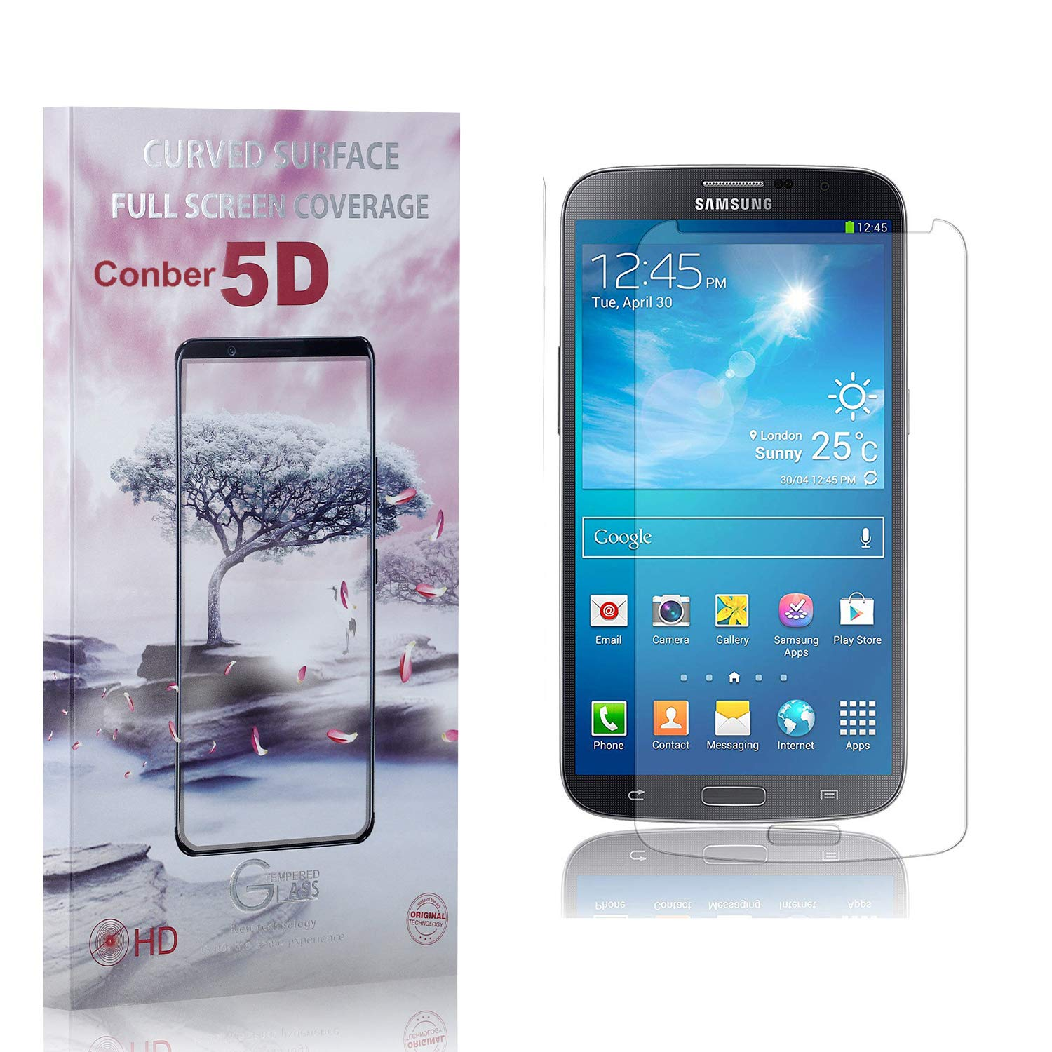 5% OFF Fixed price for sale Conber 3 Pack Screen Protector Samsung Anti-Sh for Galaxy S4