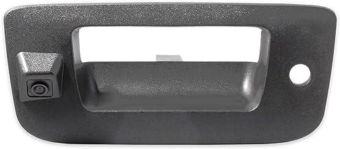 $65 » EWAY Tailgate Handle Backup Camera for Chevrolet Silverado GMC Sierra 1500 2007-2013 2500 3500 Heavy Duty 2007-2014 Waterp...