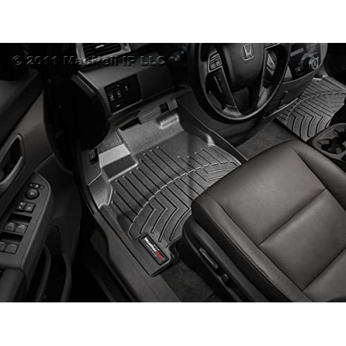 WeatherTech Custom Fit Front FloorLiner for Volkswagen Amarok, Black