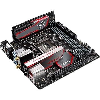 ASUS ROG MAXIMUS VIII IMPACT LGA1151 Mini ITX DDR4 Motherboards