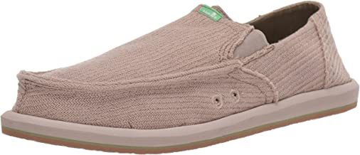 Sanuk Men's Pick Pocket Hemp Loafer Flat