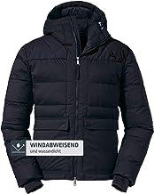 Schöffel Geïsoleerde jas Boston M, sportieve winterjas met capuchon, waterdichte en winddichte outdoorjas voor heren