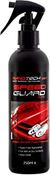 Speed Guard Nano Coating Technology Spray, Replaces Car Wax, Works With Polish, With Instant Paint Protection Seal, Great For Cleaning Reduces The Need To Shampoo, Wash, Works Like Ceramic Products: image