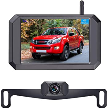 DIY No Wiring No Drilling Install with Digital Wireless Rear View Camera Solar Wireless Backup Camera Universal Bracket for Most Vehicle BOSCAM SunGo Pro