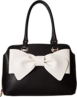 Pop Color Bow Satchel