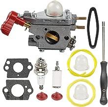 Mckin C1U-P27 Carburetor fits Craftsman 753-06288 751-15112 316791020 316711171 316711190 316711192 316725860 316731200 316740800 316740820 316740870 Trimmer Weed Eater with Air Filter Adjustment Tool