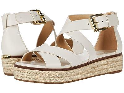MICHAEL Michael Kors Darby Sandal (Light Cream) Women