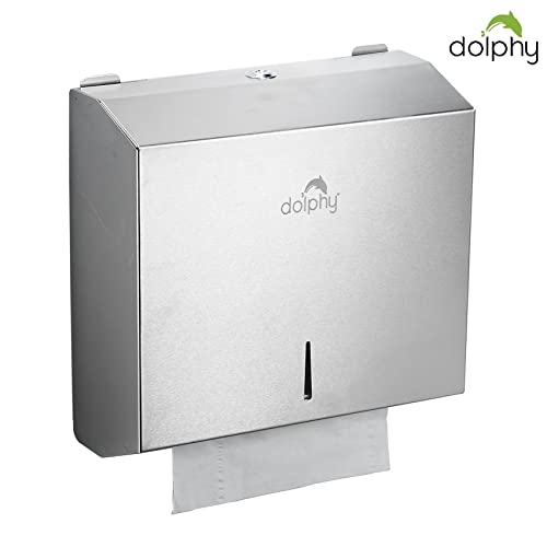 Dolphy Multifold Stainless Steel Towel Paper Dispenser
