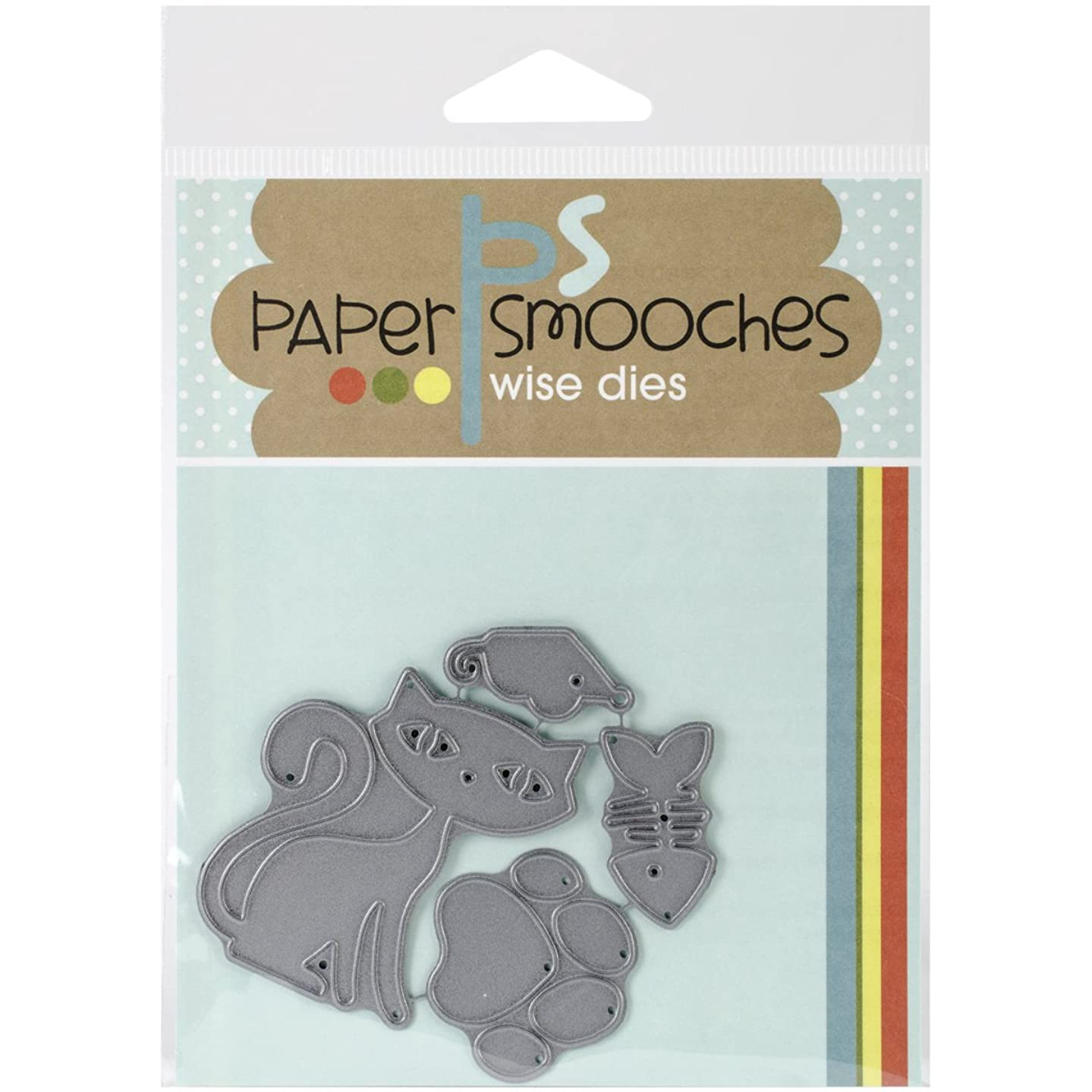 Paper Smooches J3D148 Cat Icons Die
