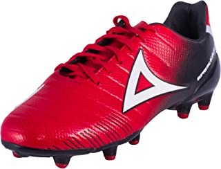 Supreme Mamba Red Black Soccer Men's Athletic Cleats Sport Shoes