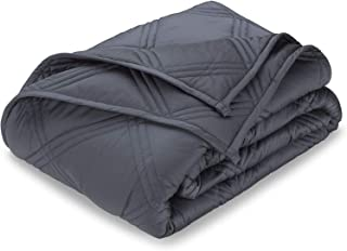 Pure Bamboo - Weighted Blanket - 100% Bamboo Heavy Sleeping Blanket for Kids and Adults - Soft 7-Layer Bed Quilt with Prem...