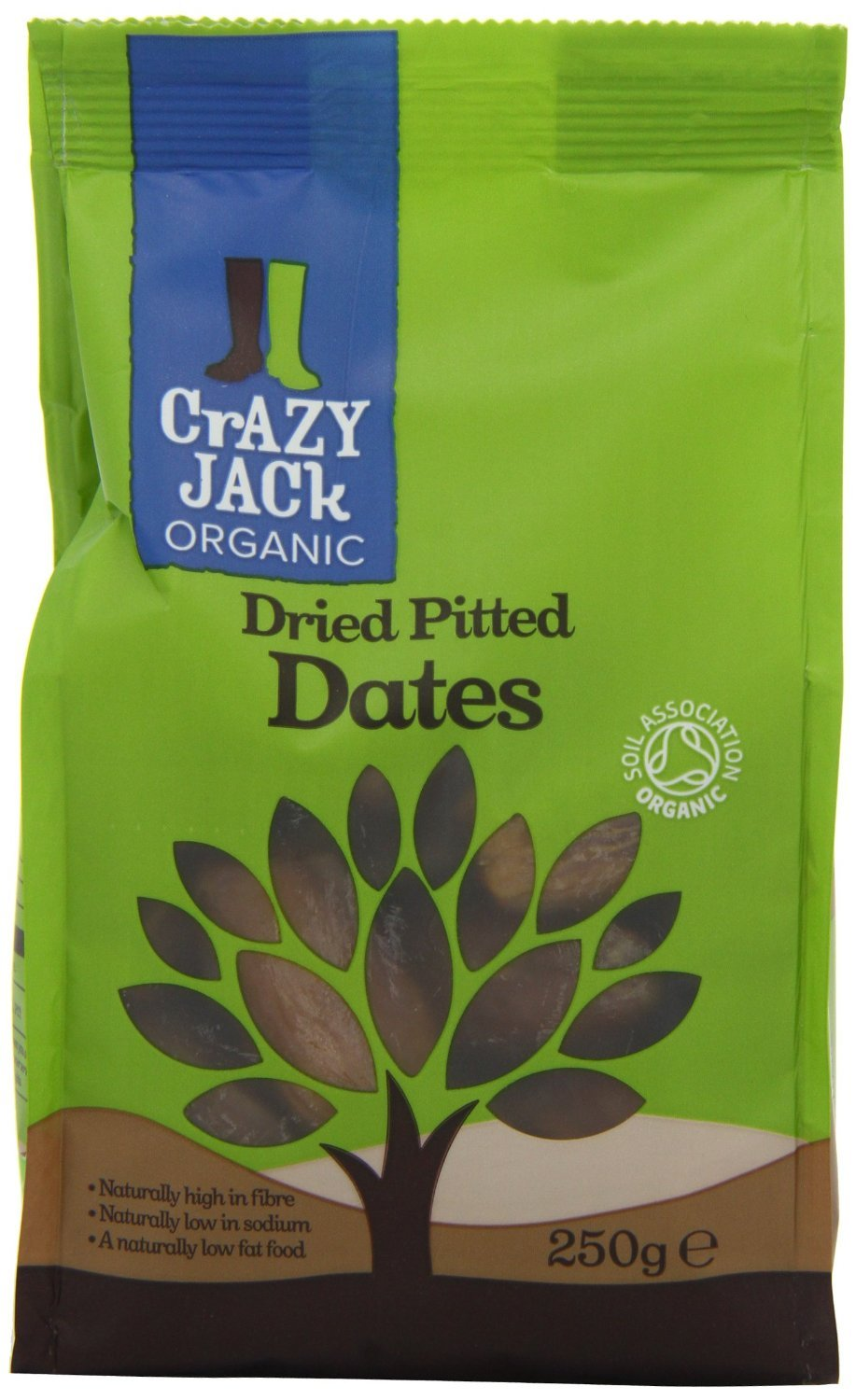 National uniform Max 71% OFF free shipping Crazy Jack Soft Ready to Eat Organic 250g - Pack Dates 6 of
