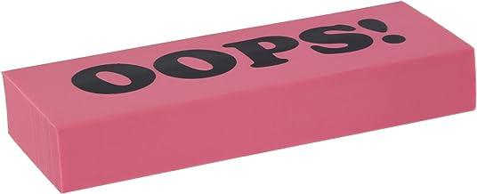RAM-PRO LARGE JUMBO Pink Eraser OOPS Print Soft Rubber NEW