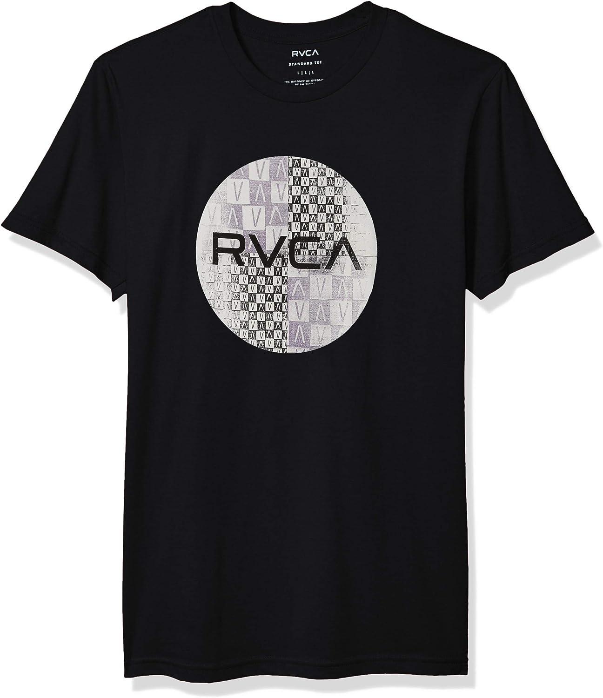 RVCA Men's Motors Mix Short Sleeve Crew Neck T-Shirt