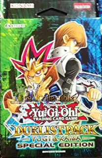 YuGiOh Duelist Pack Yugi & Kaiba SE Special Edition Pack [6 Booster Packs]