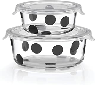 Kate Spade New York 875252 Deco Dot round dishes